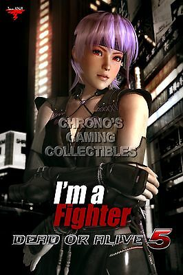 RGC Huge Poster Dead or Alive 5 Last Round Ultimate Kasumi PS3 XBOX 360 OTH155