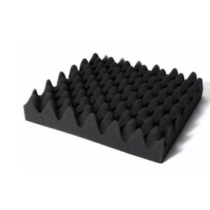 50X50X5cm-Daemmmatte-Daempfung-Isolierung-Noppenschaumstoff-Akustikschaumstoff-WYS