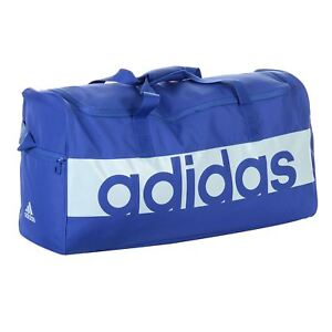 754850ce06 Image is loading Adidas-Linear-Performance-Duffel-Bag-Training-Sport-gym-