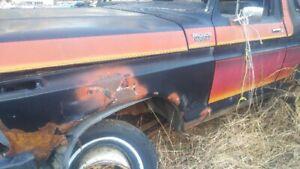 bronco 1979 4x4 pick up auto camion voiture antique pour mecano