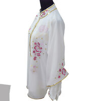 Chinese Traditional Cotton And Linen Kung Fu Performance Clothing Exercise Suits
