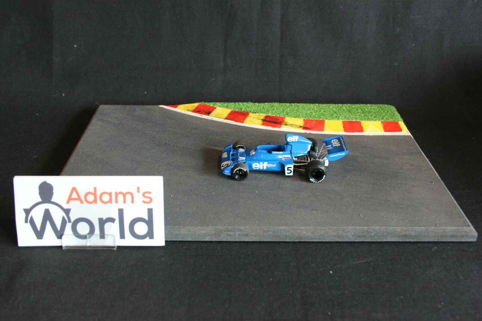 Tameo Tyrrell Ford 006 1973 1 43;5 Jackie Stewart (GBR) naso amovibile (KL)