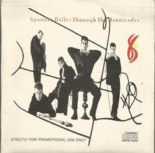 Spandau Ballet - Through The Barricades rare CD album