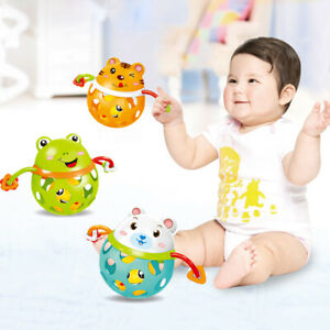 Baby-Rattles-Hand-Shake-Intelligence-Grasping-Gum-Animal-Music-Educational-Toy
