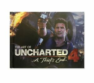 UNCHARTED-4-A-LADRO-039-S-END-ART-BOOK-PS4-1st-Class-consegna