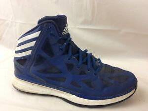 Details about Adidas Crazy Shadow 2 Mens 6 Med Basketball Shoes Q33383 2013 Blue White Leather