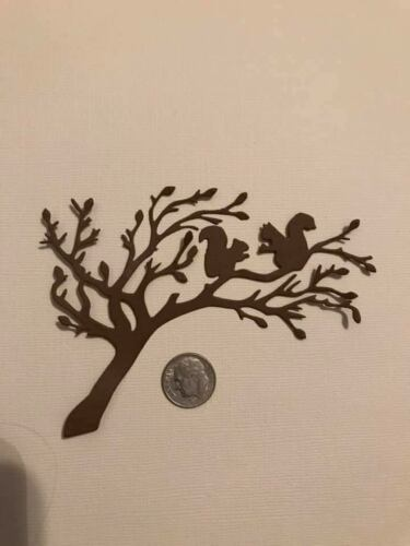 Squirrels in Tree  Premade PAPER Die Cuts Scrapbook /& Card Making 2