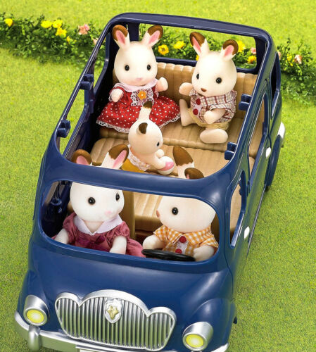 Sylvanian Families Calico Critters Seven Seater Van Vehicle
