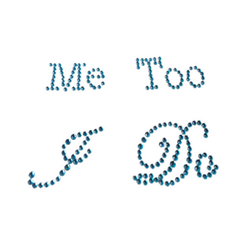 I Do /& Me Too Set Wedding Bridal and Groom Shoes Sticker Wedding DecaODUS