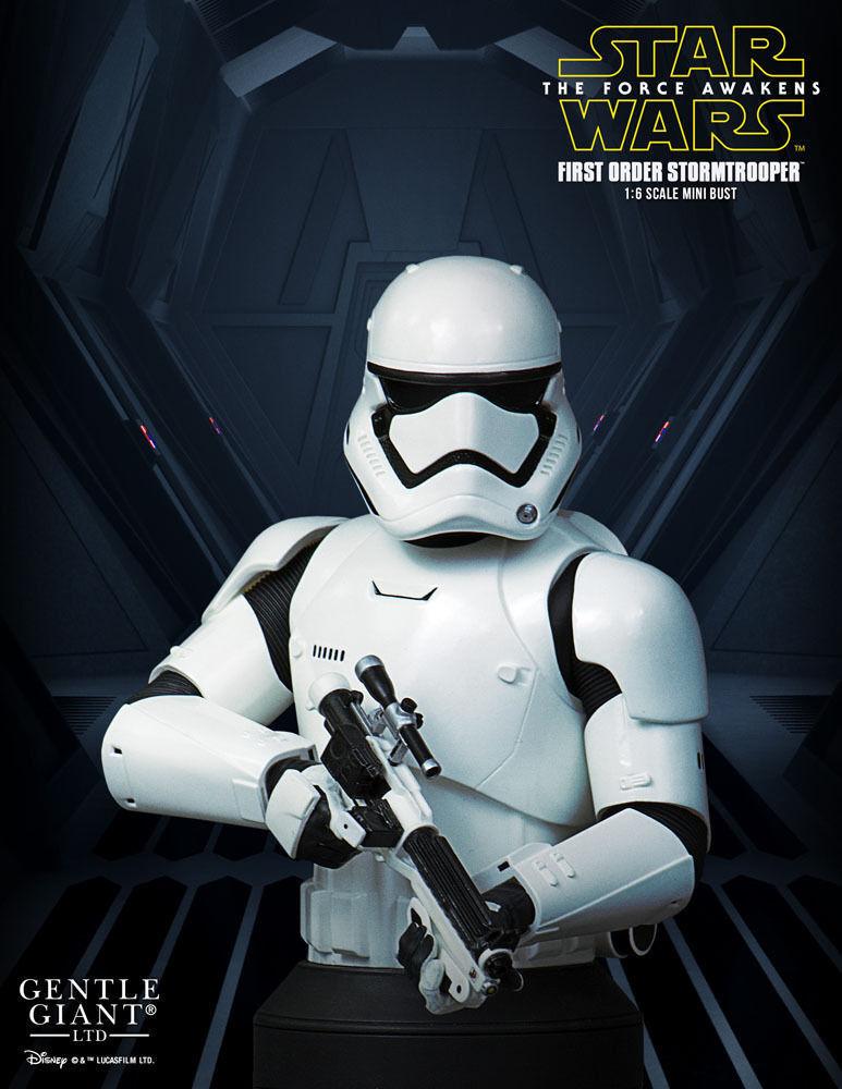 Star Wars Episode VII Bust 1 1 1 6 First Order Stormtrooper Deluxe MB 16 cm 0d53e9