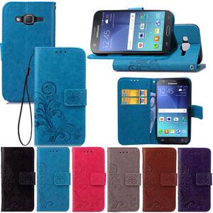 Pour-Samsung-Galaxy-J7-Neo-Cuir-PU-Magnetique-a-Clapet-Support-Etui-Housse