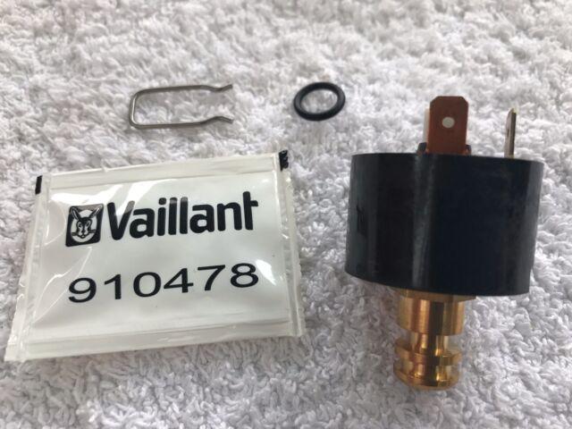 Vaillant Turbomax Plus Vuw 824e 824/2e 828e 828/2e & 837e Sensor de Presión