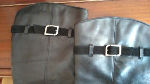 Femmes Rockport Bottes Noir 41 cuir