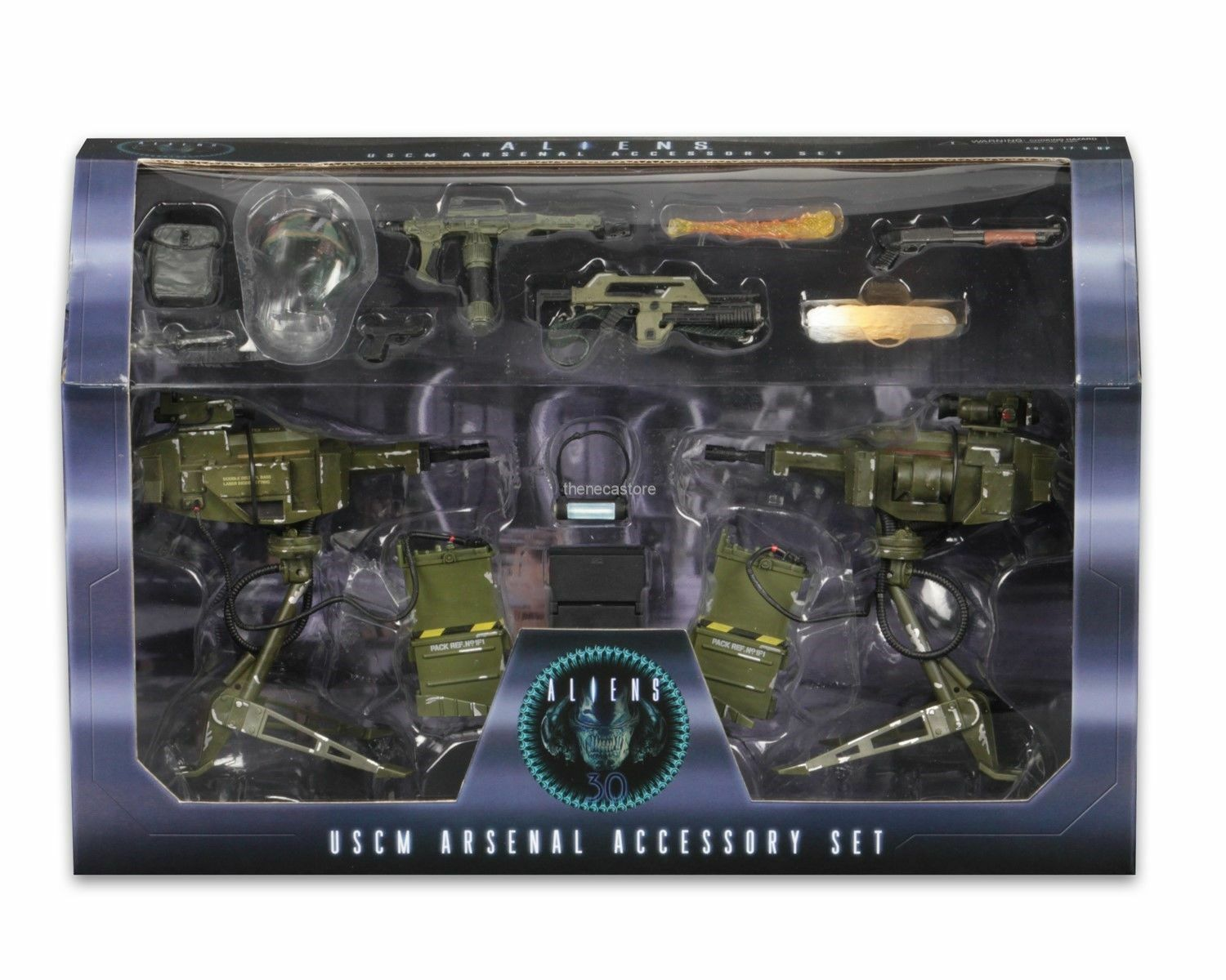 Aliens – USCM Arsenal Accessory Pack For Alien & Prossoators Action Figures NECA