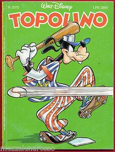 TOPOLINO-2075-settembre-1995-W-Disney-Company-Italia-M-GIOCHI-NON-ESEGUITI