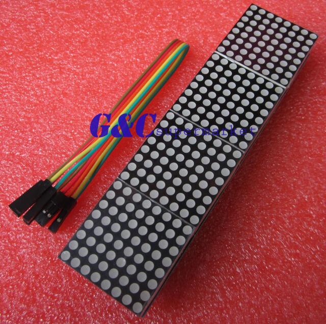 MAX7219 dot matrix module Arduino microcontroller module 4 in one display M75