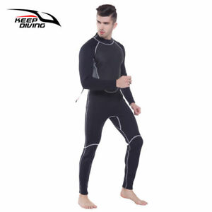 Professional-3MM-Wetsuit-Full-Body-Mens-Scuba-Dive-Surfing-Neoprene-Clothing-New