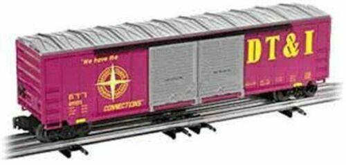 Lionel O Escala Detroit Toledo & Ironton doble con marcos de auto coche de caja  6-17273U