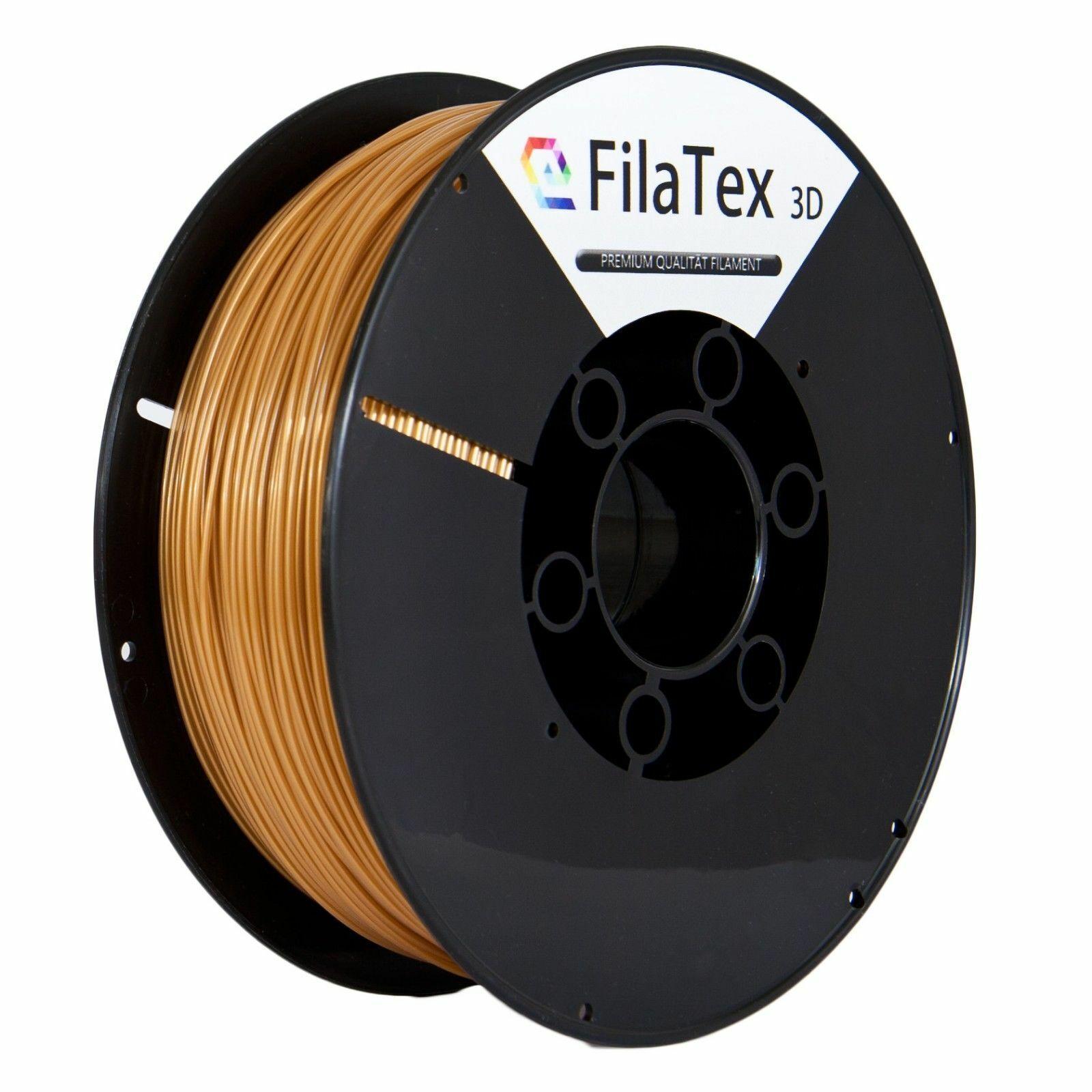 Premium Pet PETG filament role Pale Gold 1,75mm 1KG for 3D Printer filatex 3D