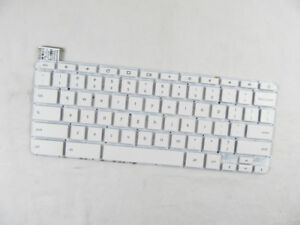 FOR HP Chromebook 14-X 14-X000 14-X013DX Keyboard US white no Frame