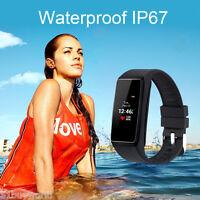 Smartwatch Bluetooth Sport Armband Pulsuhr für iOS Android iPhone Samsung HTC