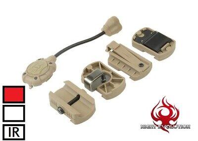 Night Evolution MPLS 3 Modular Personal Lighting System BLACK RED White IR