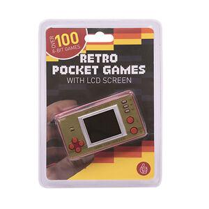Maquinita De Videojuego Consola Retro Pocket Arcade Con 100 Juegos