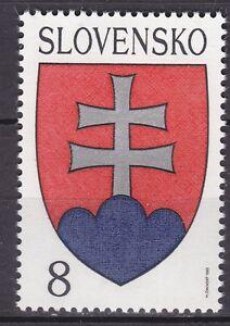 SLOVAKIA-1993-MNH-SC-151-Natl-Arms