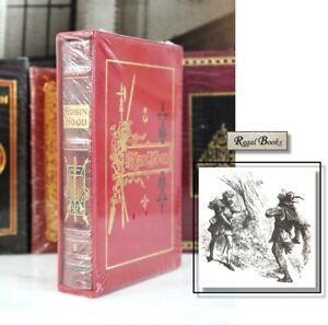 ROBIN HOOD ORIGINAL LEGENDS Easton Press - Ritson  DELUXE LTD ED - SEALED w/ BOX