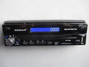 xomax xm dvts973u radio moniceiver 1 din cd dvd av usb sd. Black Bedroom Furniture Sets. Home Design Ideas