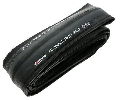 Vittoria Rubino Pro Slick 700x23c 150tpi 23-622 Road Bike Tire Black//Grey NEW