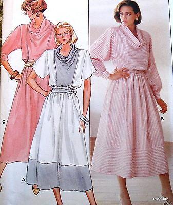 1980s Studio 36 pullover dress