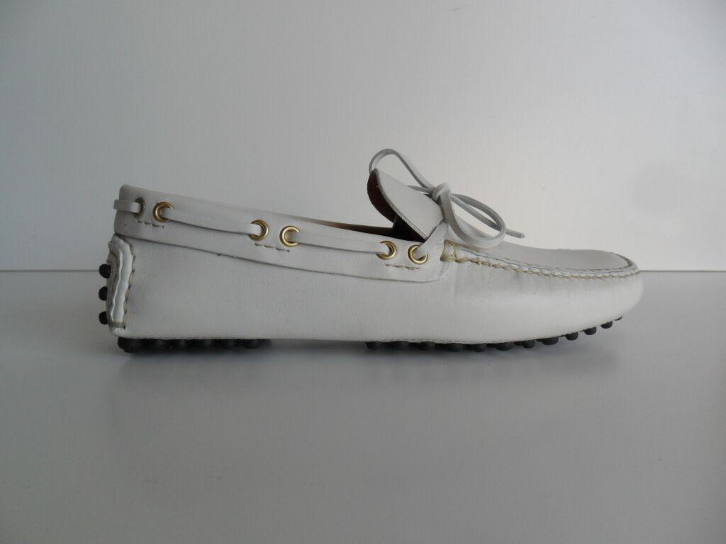 Mokassin Car Schuhe Männer Leder Männer Schuhe weiß (4) ebe679
