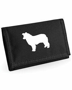 Collie-Dog-Wallet-with-Silhouette-Design-Border-Bearded-Rough-amp-Sheltie-13x9cm