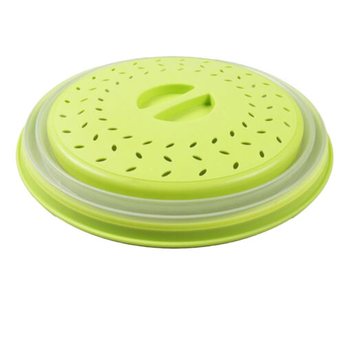 Kunststoff Mikrowelle Lebensmittelabdeckplatte belüfteten Splatter Protector