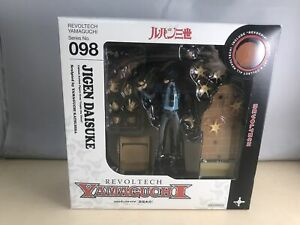 Kaiyodo-Jap-Lupin-III-figurine-Revoltech-Yamaguchi-098-Daisuke-Jigen-14-cm