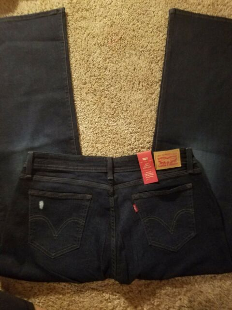 2a37651ac6f Levis Womens 529 Curvy Bootcut Jean Size 32x30 14 Short Reg for sale ...