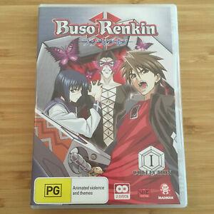 Buso-Renkin-Collection-1-Episodes-1-13-2-Disc-DVD-Set-Region-4-Free-Post