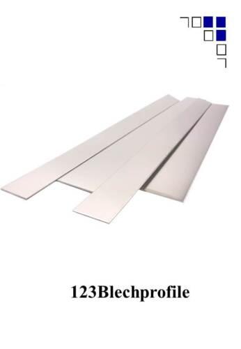 500mm lang Blechstreifen,Alu1-5mm,Edelst.1-3,Lochblech1+2,Riffelblech,elox1-3