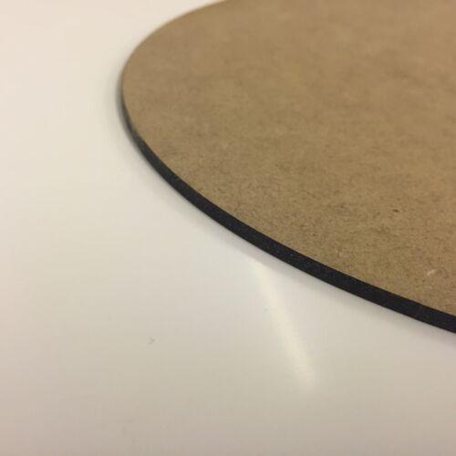 Placa Mdf Oval A5 A4 A3 500 mm ^ 2 3 mm 6 MM tablero placas de madera de madera de hoja