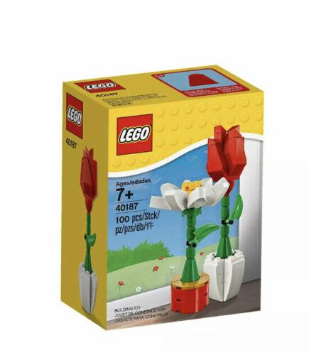 Sealed! LEGO Flower Display 40187 Brand New