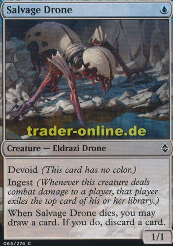 Bergungsdrohne 4x Salvage Drone Battle for Zendikar Magic