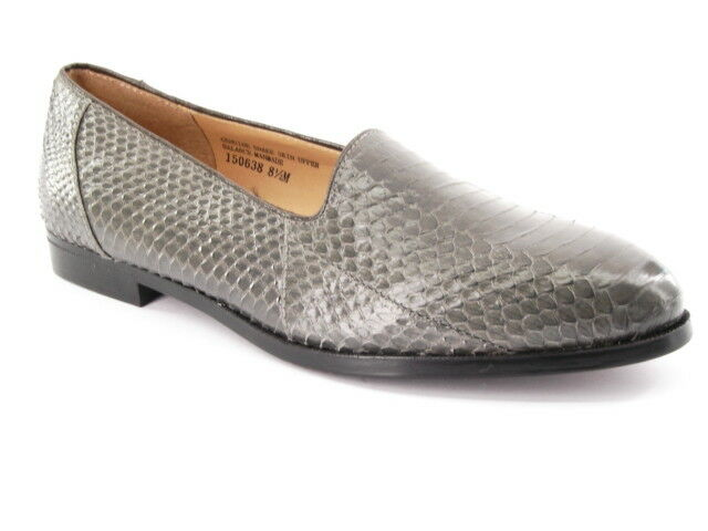 New GIORGIO BRUTINI Men Shackskin Leather Flat Casual Comfort Loafer shoes 8 M