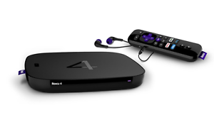 Roku 4 Streaming Media Player 4K UHD (4400R)