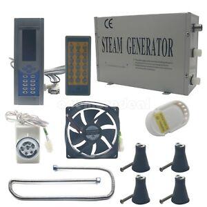 3kw Steam Generator Sauna Bath Home Spa Shower With Remote