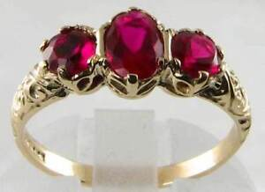 ENGLISH 9K GOLD  VICTORIAN INSP GARNET TRILOGY RING FREE RESIZE - <span itemprop=availableAtOrFrom>NOTTINGHAM, Nottinghamshire, United Kingdom</span> - Returns accepted Most purchases from business sellers are protected by the Consumer Contract Regulations 2013 which give you the right to cancel the purchase within 14 - NOTTINGHAM, Nottinghamshire, United Kingdom