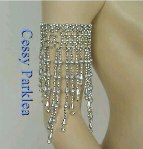 Belly-Dance-Bracelets-Bangles-Costume-Jewelery-Beads-Arm-Pieces