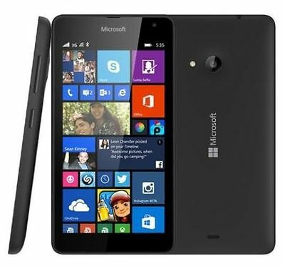 "Microsoft Nokia Lumia 535 DUAL SIM Simfree 8GB 5"" Unlocked Windows Smartphone"