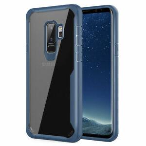 Coque Housse Luxe Rigide Antichoc Pour Samsung Galaxy S9 Étui Protection Bleu