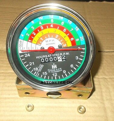 IH Utility 363829R91 Replacement Tachometer Farmall  300 /& 350 Gas